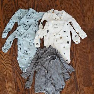 Carter's Preemie Baby Boy Clothing